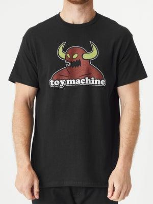 Toy Machine Monster Tee SM Black