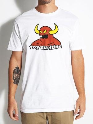 Toy Machine Monster Tee SM White