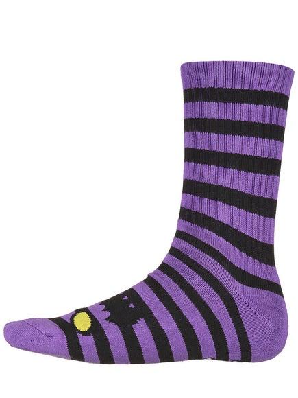 Toy Machine Monster Stripe Crew Socks