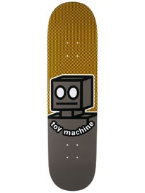 Toy Machine Robot Grey Deck 8.25 x 31.75
