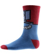 Toy Machine Robot Crew Socks
