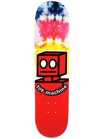 Toy Machine Robot Tie Dye Deck 7.875 x 31.25