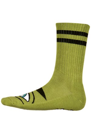 Toy Machine Sect Eye III Crew Socks Army