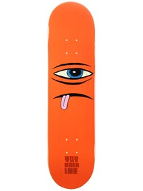 Toy Machine Sect Face Orange Deck 7.875 x 30.75
