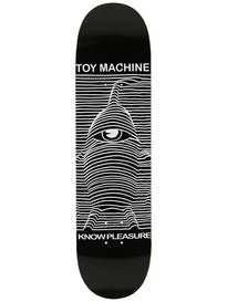 Toy Machine Toy Division Black Deck 8.0 x 31.75