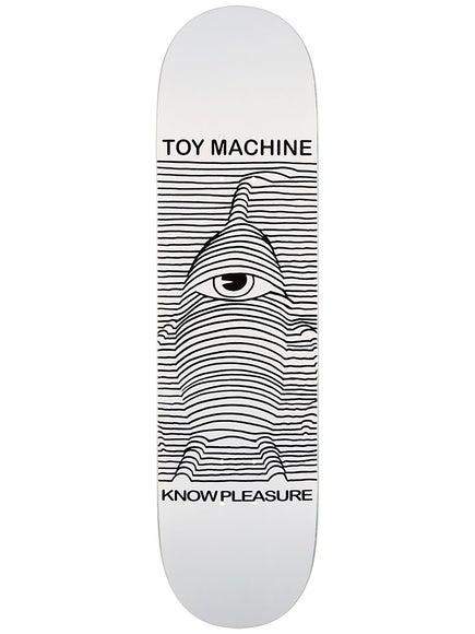 Toy Machine Toy Division White Deck 8.125 x 31.875