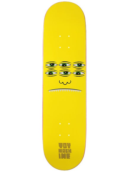Toy Machine Transmissionator Face Deck 8.125 x 32