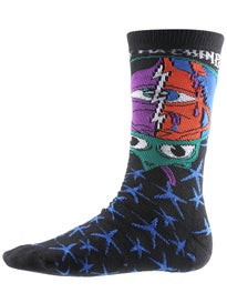 Toy Machine Turtlehead Crew Socks