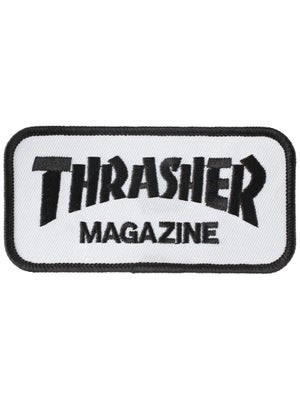 Thrasher Logo Patch White