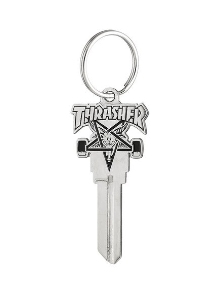 Thrasher Skate Goat Key