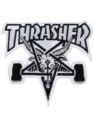 Thrasher Skate Goat White Patch