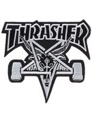 Thrasher Skate Goat Black Patch