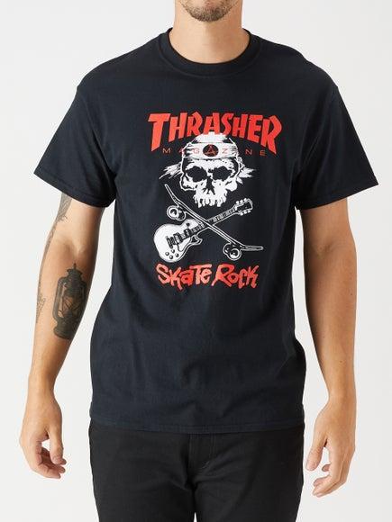 Thrasher Skate Rock Skull T-Shirt