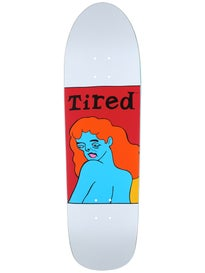 Tired Womans Face on Slick Deck\ .189 x 32.28
