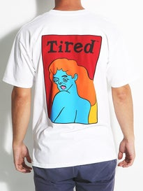 Tired Womans Face T-Shirt