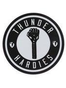 Thunder x Hardies Sticker Silver