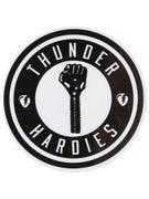 Thunder x Hardies Sticker White