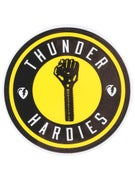 Thunder x Hardies Sticker Yellow
