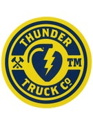 Thunder Mainline Fill Sticker Navy/Yellow