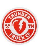 Thunder Mainline Fill Sticker Red/White