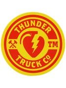 Thunder Mainline Fill Sticker Red/Yellow