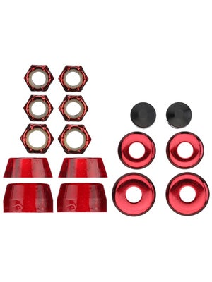 Thunder Bushing Rebuild Kit 90D Red