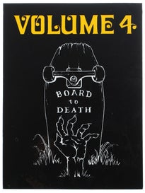 Vol 4 Board To Death Sticker Black