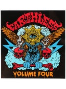 Vol 4 Earthless Stickers Black