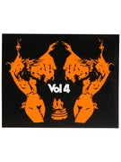 Vol 4 Out For The Boys Sticker Orange