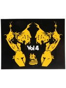 Vol 4 Out For The Boys Sticker Yellow