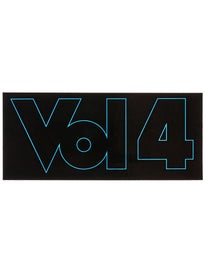 Vol 4 Outline Sticker Blue