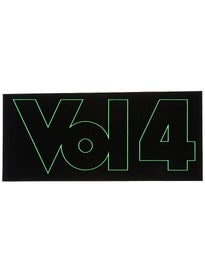 Vol 4 Outline Sticker Green