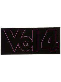 Vol 4 Outline Sticker Pink