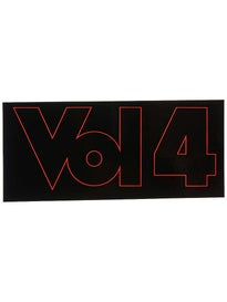 Vol 4 Outline Sticker Red