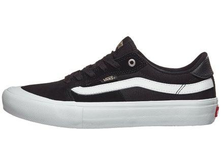12af5c213a Vans Style 112 Pro Shoes Black White Khaki