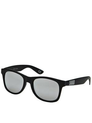Vans Spicoli 4 Sunglasses Matte Black/Silver Mirror
