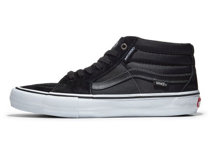 af2a1e94f7 Vans x Anti Hero Sk8-Mid Pro Shoes Grosso Black