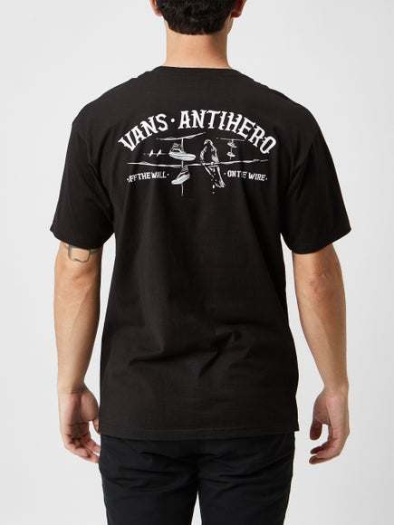 e9d2a200739 Vans x Anti Hero On The Wire T-Shirt