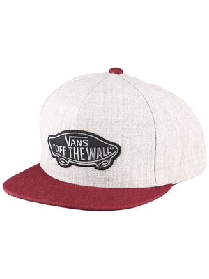 Vans Classic Patch Snapback Heather Grey/Port