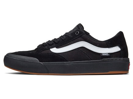 708162519bc Vans Berle Pro Shoes Black Black White