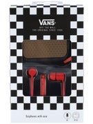 Vans Earphones Red