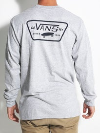 Vans Full Patch Back Longsleeve T-Shirt