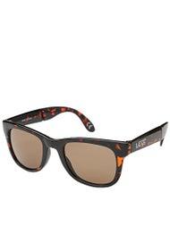 Vans Foldable Spicoli Sunglasses  Tortoise Gloss