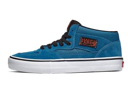 bf08d9e524 Vans Half Cab Pro Shoes Blue Sapphire Black