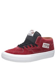 Vans Half Cab Pro Shoes  Tibetian Red/White