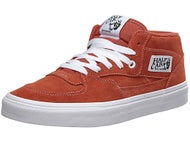 Vans Half Cab Shoes  Tandori Spice/True White