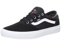 Vans Crockett Pro Shoes  Black/White/Red