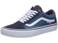 Vans Old Skool Pro Shoes  Navy/Navy/White
