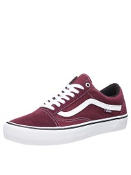 Vans Old Skool Pro Shoes  Port/White