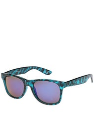 Vans Spicoli 4 Sunglasses  Translucent Blue Tortoise